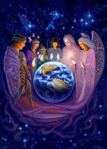 Lightworkers work together to usher in the new age.