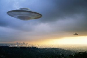 UFOs are in our skies.