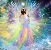 You are becoming a whole new Being of light.